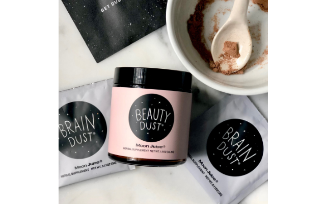 photo of beauty dust products